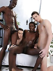Staxus - Monster Cocks: Dick Casey's Smokin' Hot Ass Gets The Interracial Double-Penetration It Deserves!